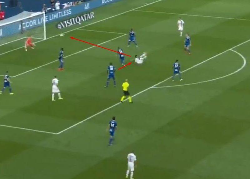 Neymar anotó golazo por el PSG
