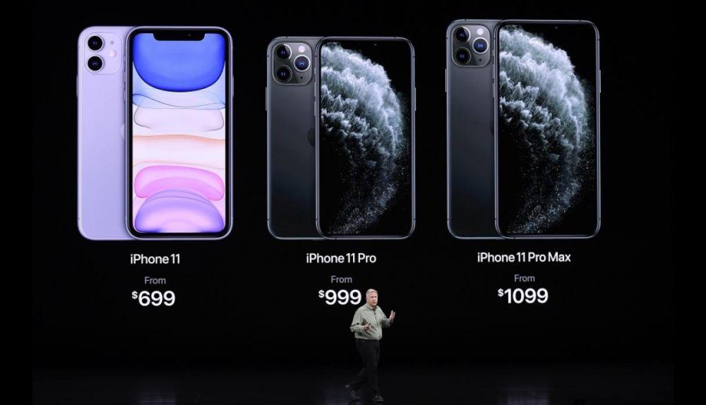 Precios del iPhone 11, iPhone 11 Pro y iPhone Pro Max: De $ 699 a $ 1099