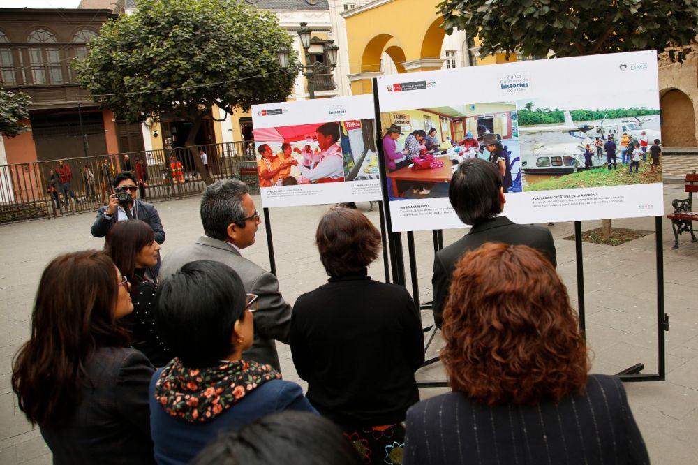 Midis presenta exposición fotográfica 'PAIS presencia efectiva del Estado'