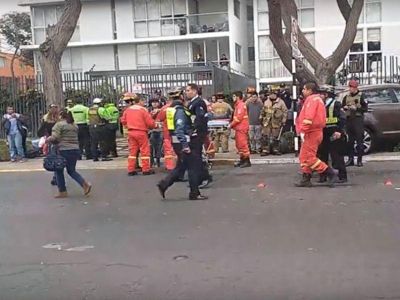 Piden sanción contra abogada que atropelló y mató a jóvenes en San Isidro