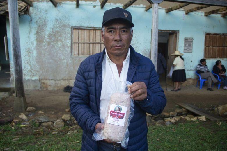Cajamarca: Jamón, cabanossi y mortadela de cuy contra la anemia