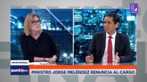 Jorge Meléndez renunció al Midis tras presunto nexo con madereros ilegales
