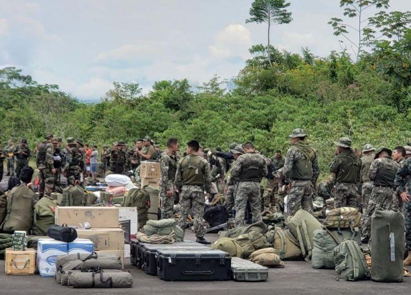 Operativo contra la minería ilegal se realiza en el Cenepa Amazonas