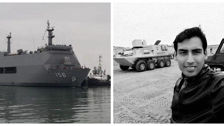 Periodista y comandante de La Marina víctimas de oleaje anómalo