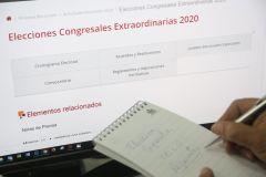 Todo sobre las elecciones congresales 2020