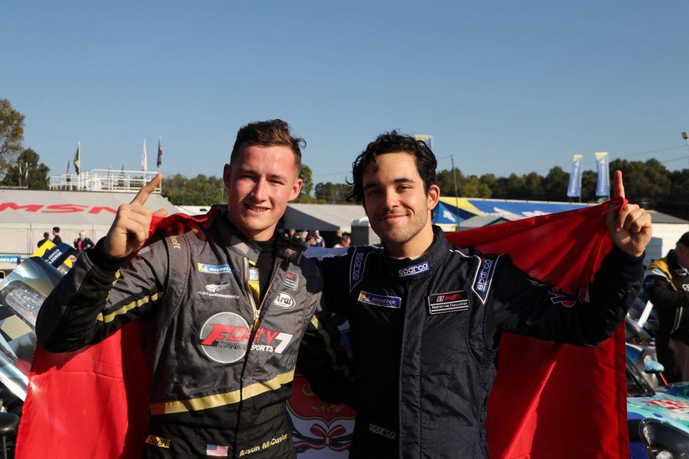 Piloto peruano Rodrigo Pflucker es campeón de la temporada en EE.UU.