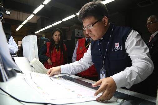 ONPE elaborará más de 24 millones de cédulas de sufragio
