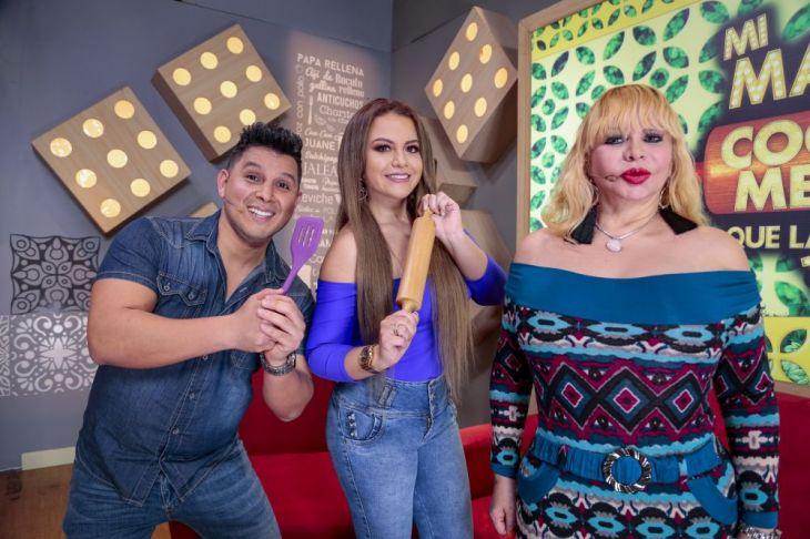 Susy Díaz, Néstor y Florcita