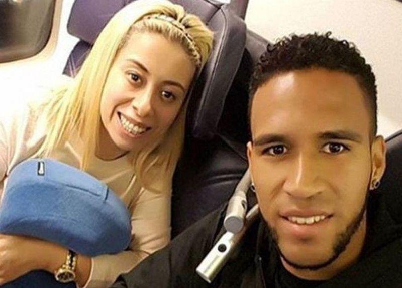 Pedro Gallese y su esposa