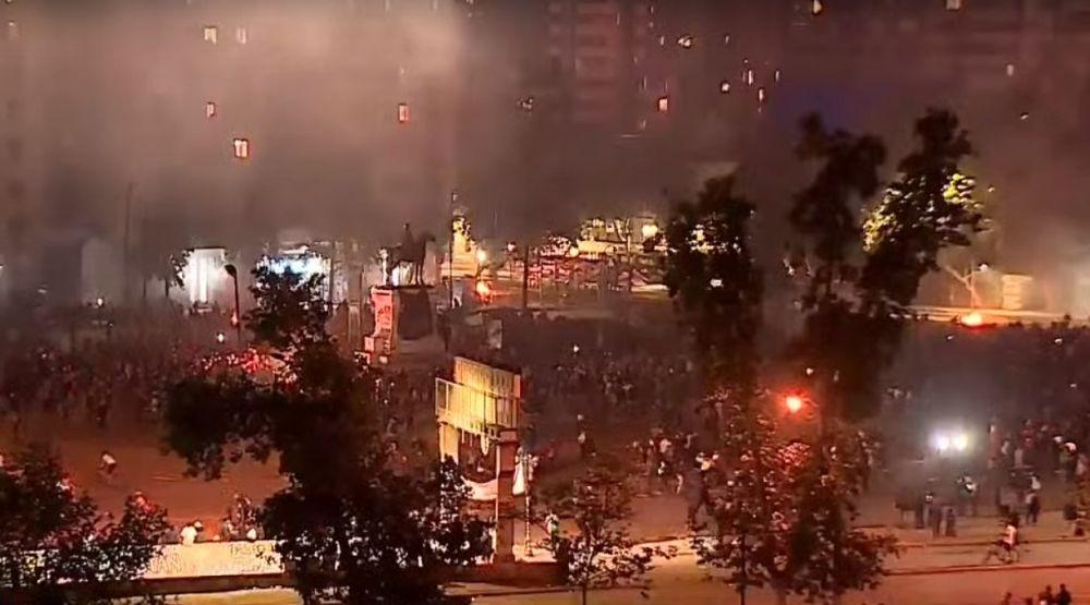 Protestas en Chile en vivo desde Santiago