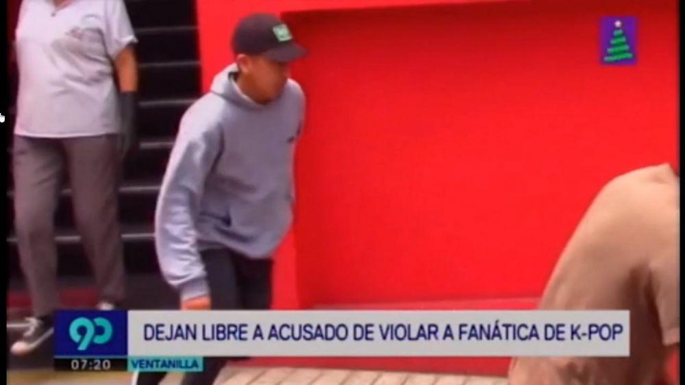 Acusado de violar a joven en Plaza Norte huyó de la prensa tras ser liberado