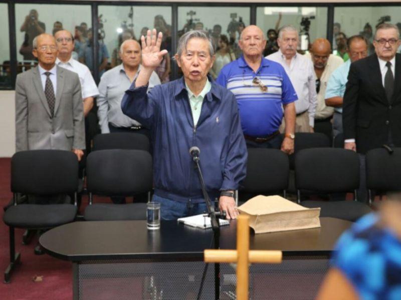 Alberto Fujimori armó la lista de Fuerza Popular