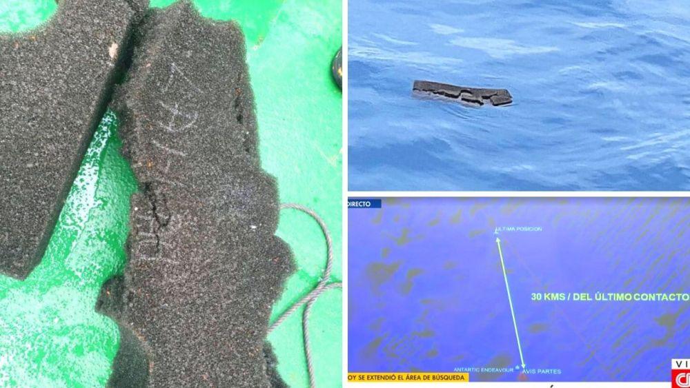 Hallan restos que serían de avión Hércules desaparecido en Chile