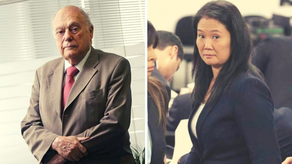 Millonario Rassmuss Echecopar aportó $ 4.8 millones a campaña de Keiko Fujimori