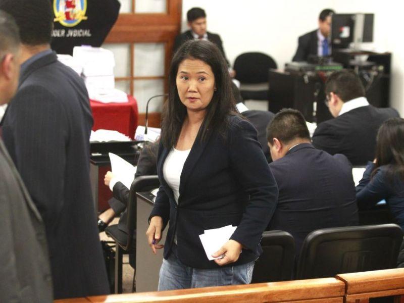 PJ evaluará prisión preventiva para Keiko Fujimori el 26 de diciembre