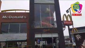 Terrible: Enamorados mueren electrocutados en McDonald's