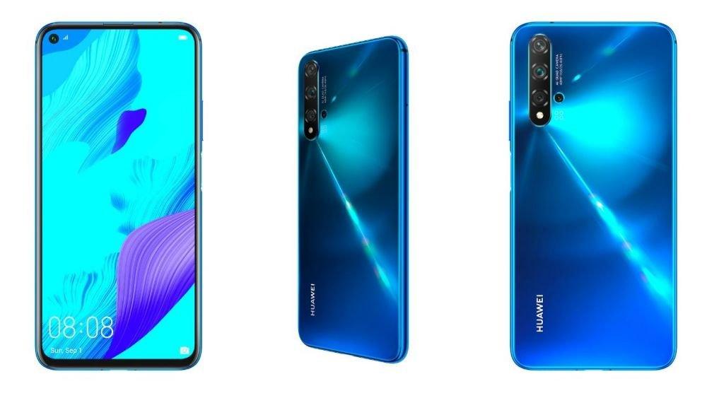 Llegó el nova 5T de Huawei al Perú, un celular con 5 cámaras y editor de video