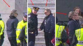 Joaquin Phoenix fue arrestado: Así fue su participación en la protesta contra el cambio climático