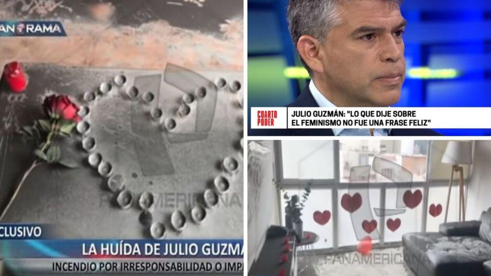 Julio Guzmán respondió así sobre infidelidad y huída tras incendio |  Periodismo en Línea