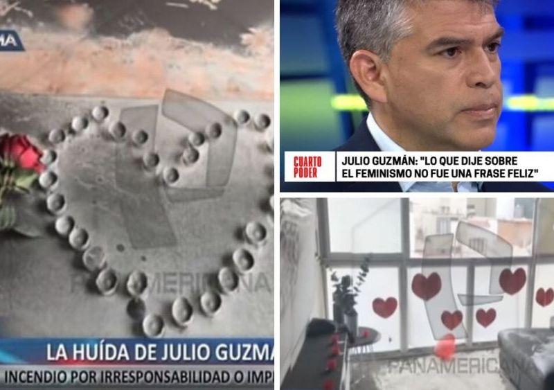 Julio Guzmán respondió así sobre infidelidad y huída tras incendio