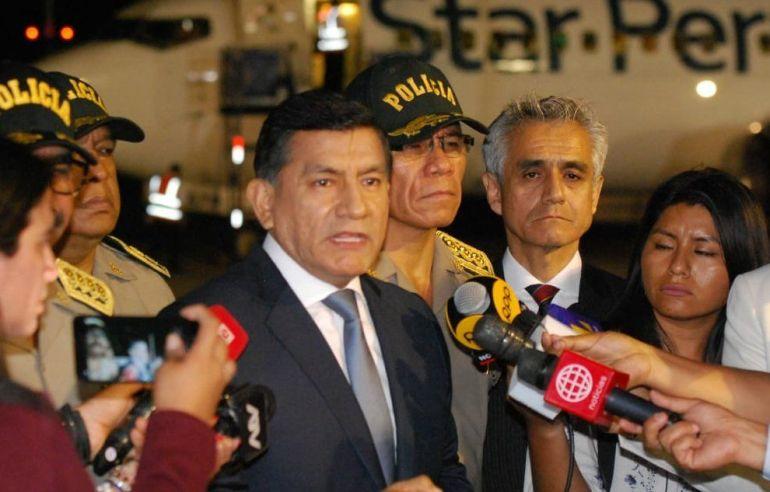 Venezolanos expulsados del Perú