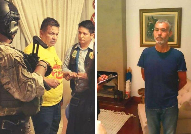 Así detuvieron al exalcalde Juan Sotomayor y al excongresista Víctor Albrecht