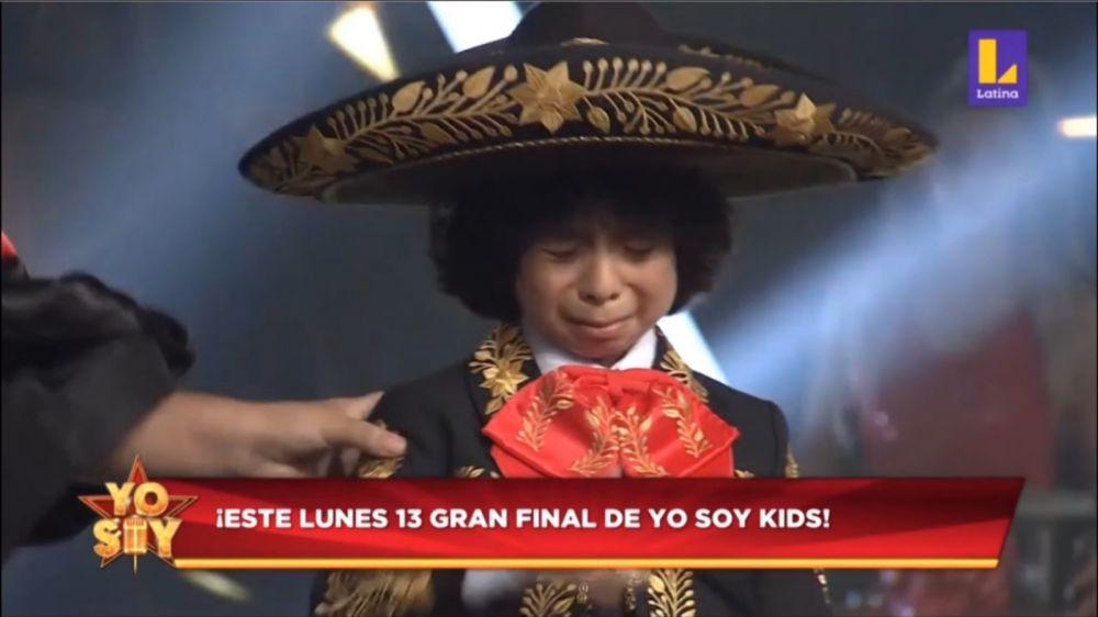 Pedrito Fernández rompió en llanto tras quedar fuera de Yo Soy Kids 2020