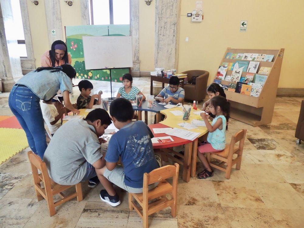 Taller de animación multimedia para niños llega a la Gran Biblioteca Pública de Lima