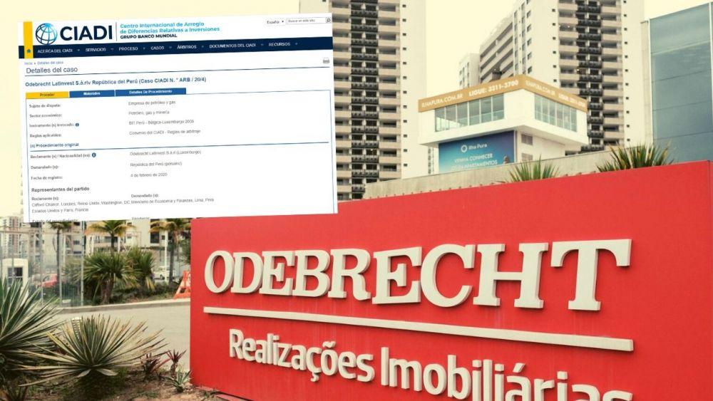 Odebrecht demanda al Perú