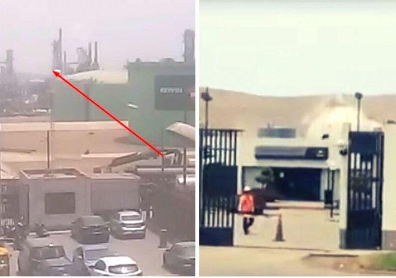 Urgente: Otra fuga de gas se registra en refinería La Pampilla