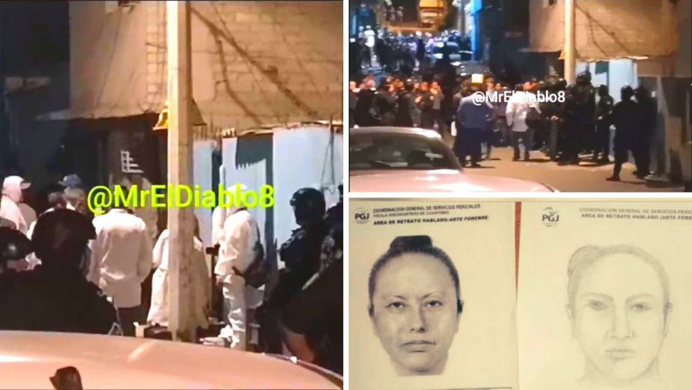 Peritos llegan a domicilio donde habrían asesinado a Fátima e identifican a secuestradora
