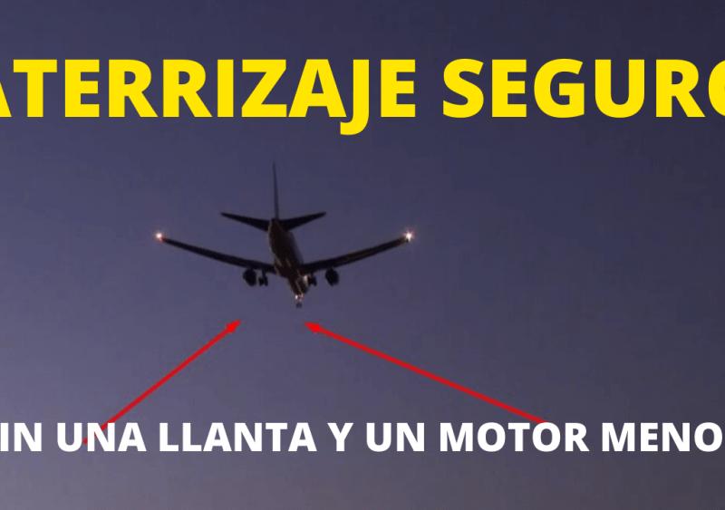 Aterrizaje seguro en España