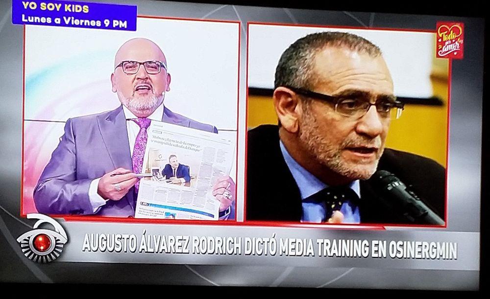 Tragedia en VES: Beto Ortiz revela asesoramiento de Augusto Álvarez Rodrich a Osinergmin