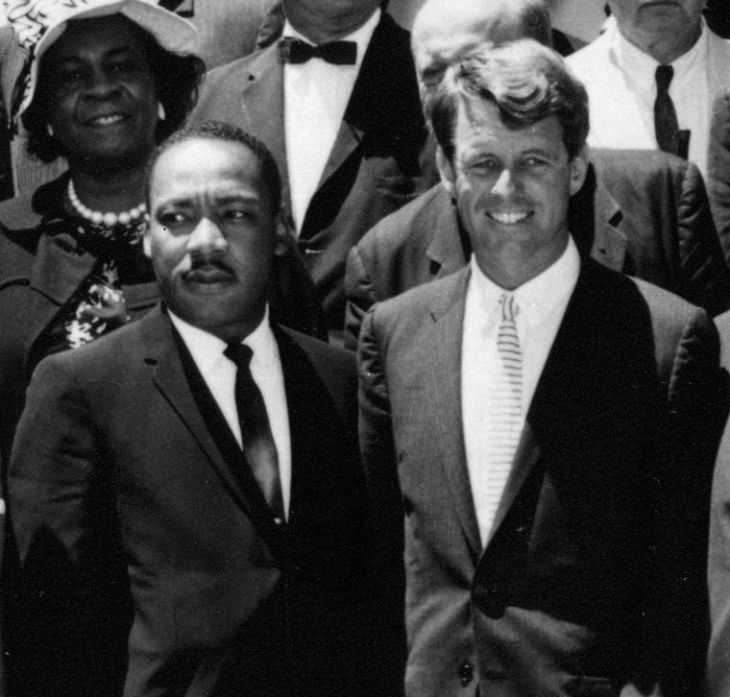 Martín Luther King y Robert F. Kennedy