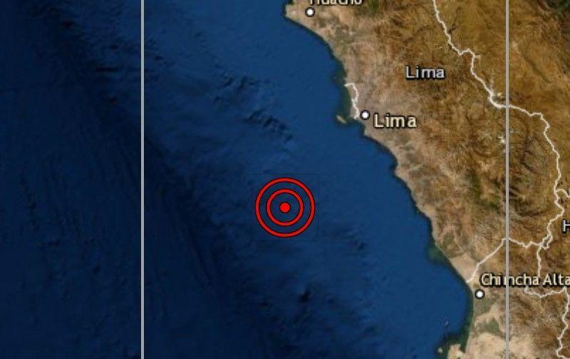 Sismo en Lima y el Callao de magnitud 4.0 se registró esta madrugada