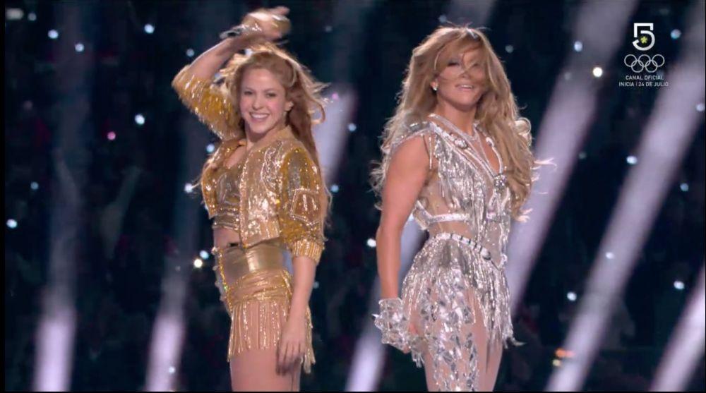 Shakira y JLo dos grandes