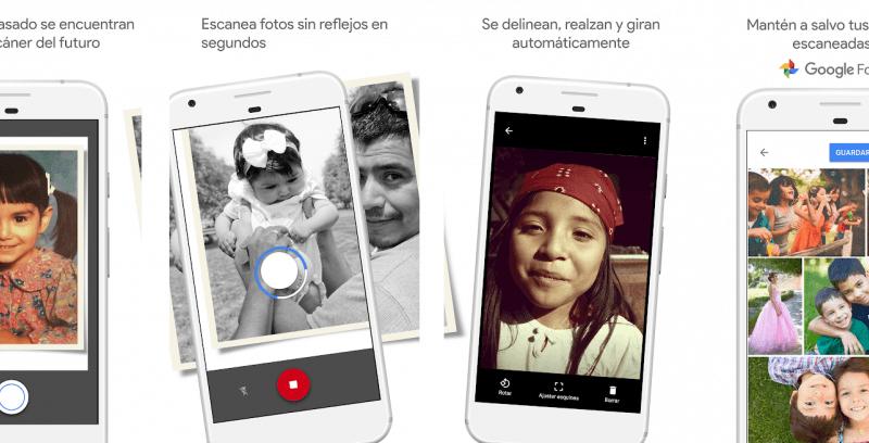Google lanzó Foto Scan