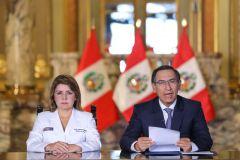Coronavirus llegó al Perú y así lo anunció el presidente Martín Vizcarra