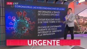 Coronavirus llegó a Argentina