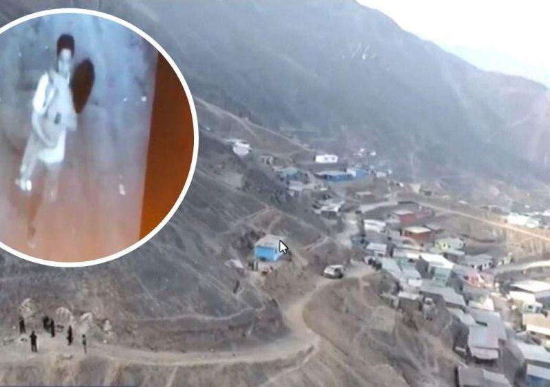 Drone revela zona donde se escondería adolescente que asesinó a niña