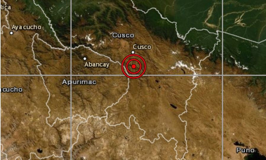 Sismo en el Cusco