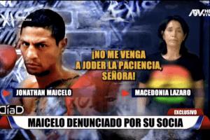 Jonathan Maicelo acusado de violencia psicológica por su socia
