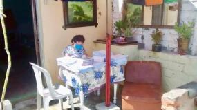 Jueza habilitó despacho judicial en la azotea de su casa