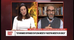 Elmer Huerta: Perú entró a meseta y bajada del COVID-19