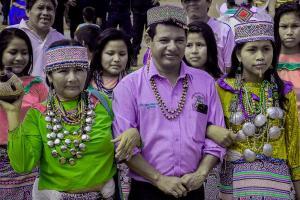 Murió líder indígena Silvio Valles por Covid-19 esperando traslado a EsSalud