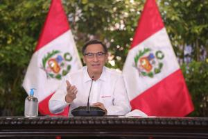 Martín Vizcarra reconoce que Reactiva Perú benefició a la mediana y gran empresa