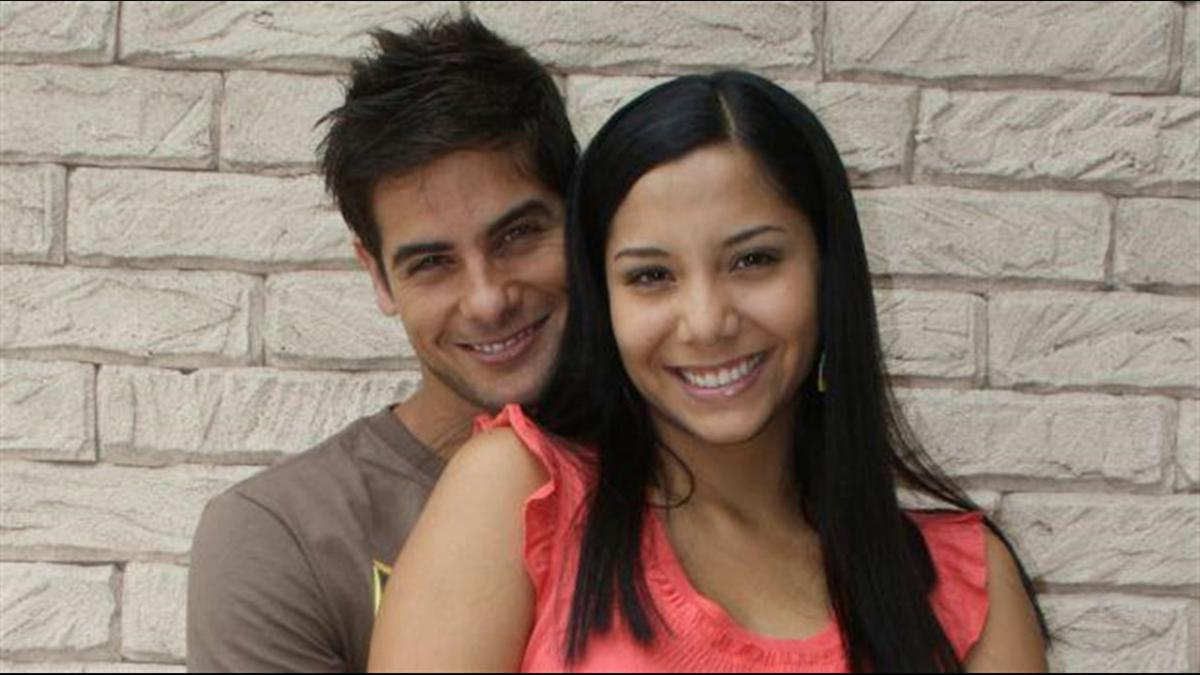Mayra Couto y Andres Wiese