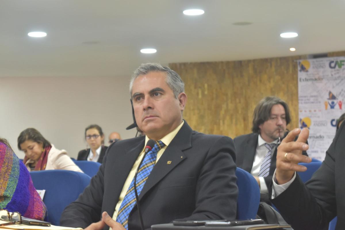 Perú asume la vicepresidencia del Parlamento Andino