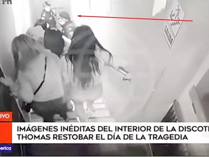 Video inédito de discoteca Thomas revela cómo empezó la tragedia