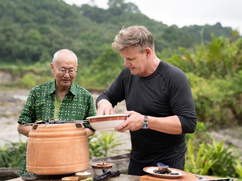 Gordon Ramsay vuelve con Sabores Extremos a National Geographic